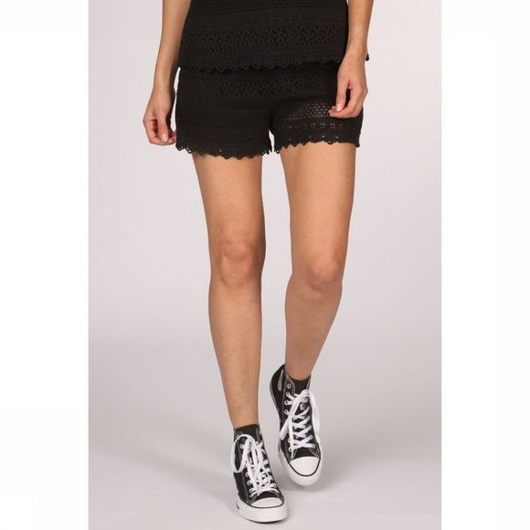 Vero Moda Short Vhhoney Lace Nfs black