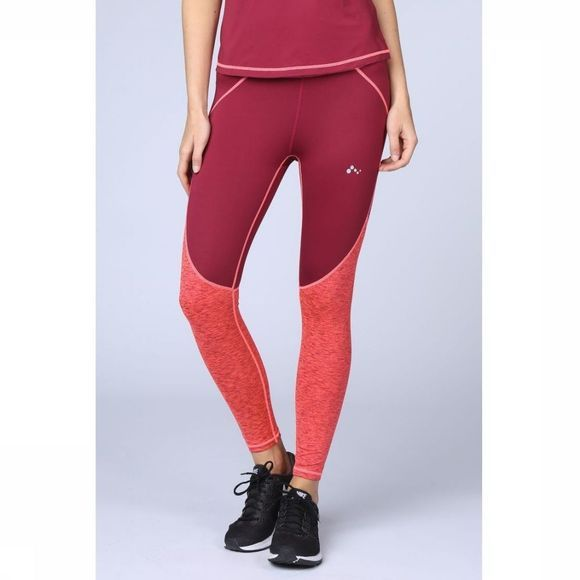 Only Play Collant de Sport Amalia 7/8 Training Bordeaux/Fuchsia