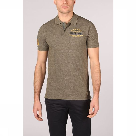 Jack & Jones Polo eeanspolo Kaki Moyen