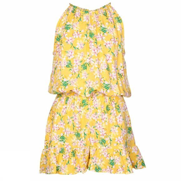 Name It Jumpsuit foris yellow/Assortment Flower