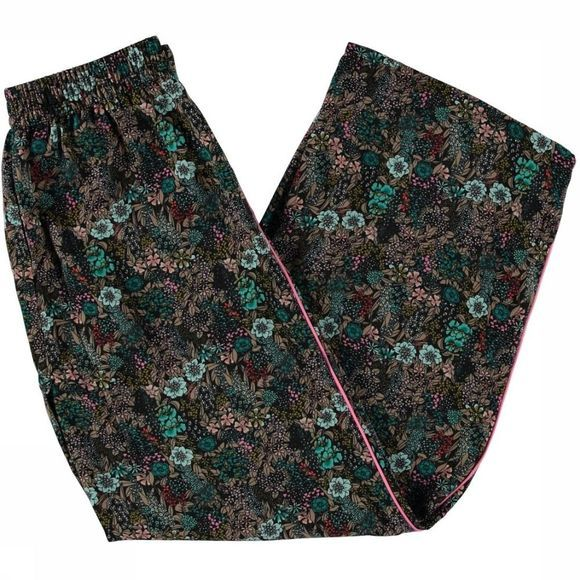 Kids Only Trouser tilma Palazzo black/Assortment Flower