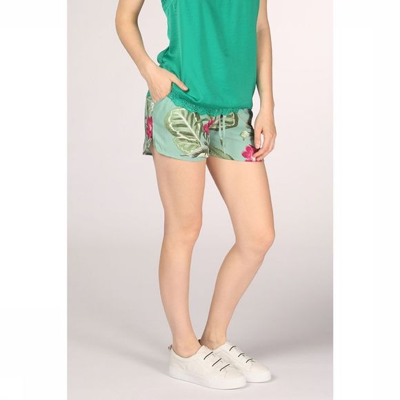 Vero Moda Short Simply Easy Nw Vert Clair/Assortiment Fleur