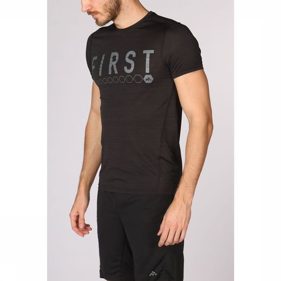 First T-Shirt Aryan Training Ss Zwart