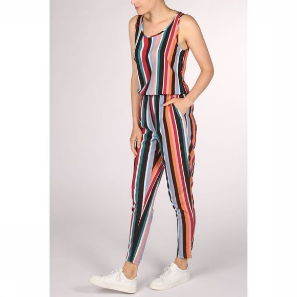 Only Combinaison nova Sl Jumpsuit 6 Cash Wvn Noir/Orange