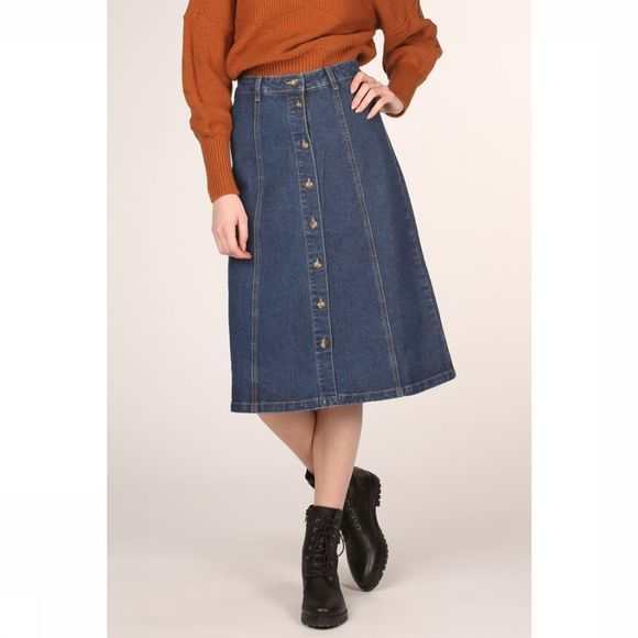 Object Rok Sinya Hw Denim Middenblauw
