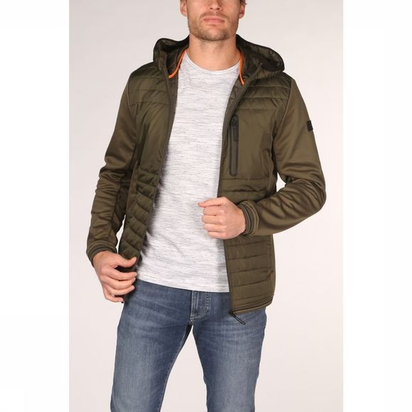 Jack & Jones Manteau Jcotripple Kaki Moyen