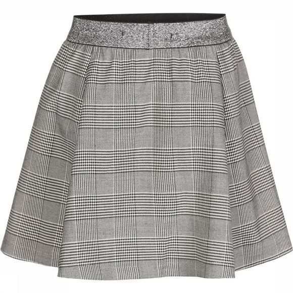 Kids Only Jupe poptrash Soft Check Skater Skirt Gris Clair Mélange/Assortiment