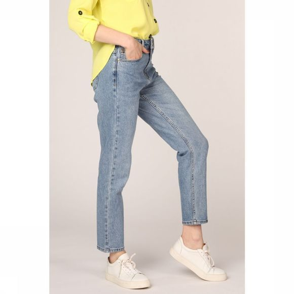 Only Jeans Onlemily Hw Straight Ankle Middenblauw (Jeans)
