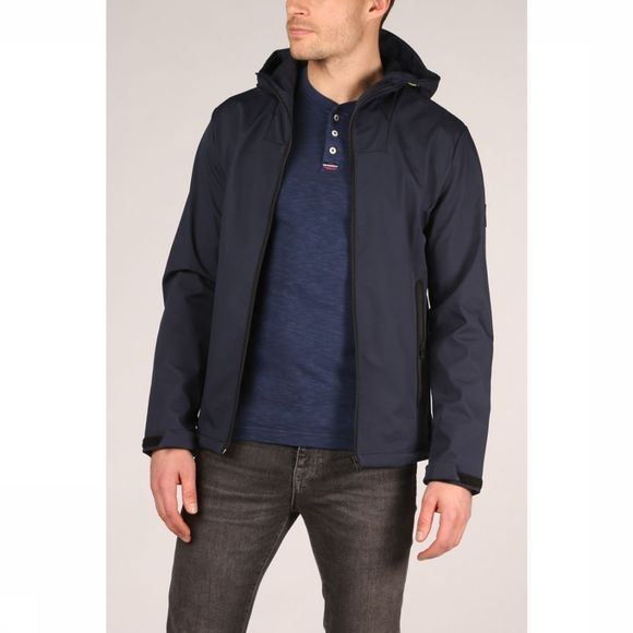 Jack & Jones Jas Jcopearce Donkerblauw