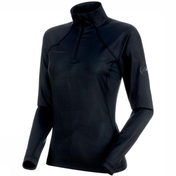 Mammut Fleece Snow Ml Half Zip Pull Medium Black