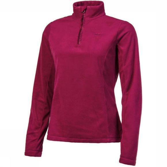 Protest Fleece Mutey 1/4 Zip Bordeaux