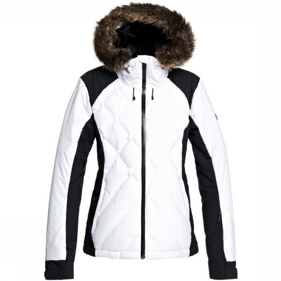 Roxy Coat Breeze Mountain white/black