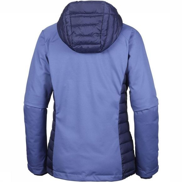 Columbia Coat Salcantay Hooded mid blue/dark blue
