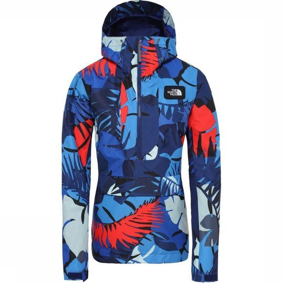 The North Face Jas Tanager Blauw/Rood