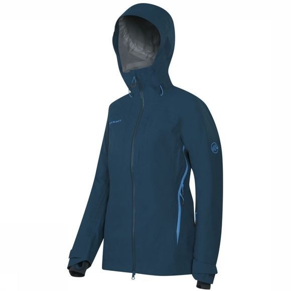 Mammut Jas Luina Tour Hs Hooded Donkerblauw