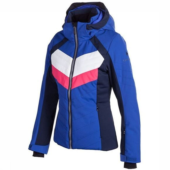 Sun Valley Jas Retro Middenblauw/Wit