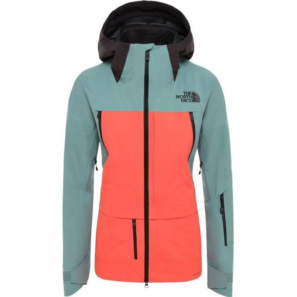 The North Face Jas Steep Ceptor Futurelight Rood/Petrol