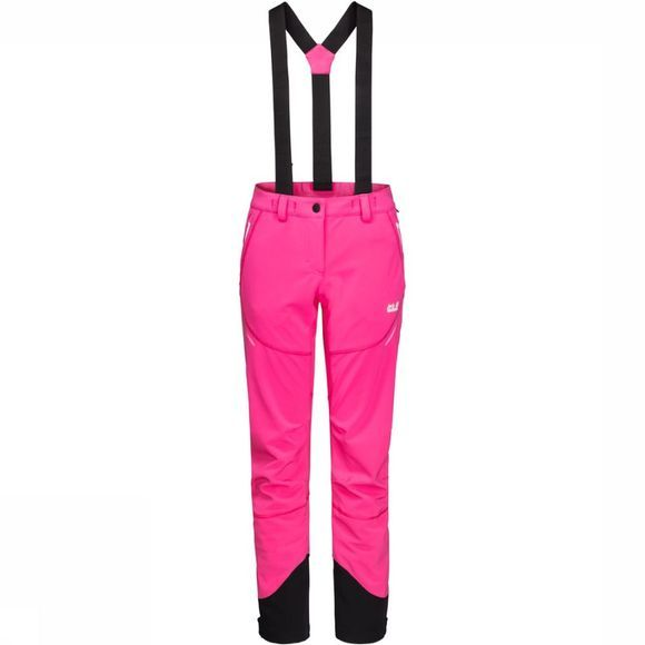 Jack Wolfskin Skibroek Gravity Tour Long Fuchsia