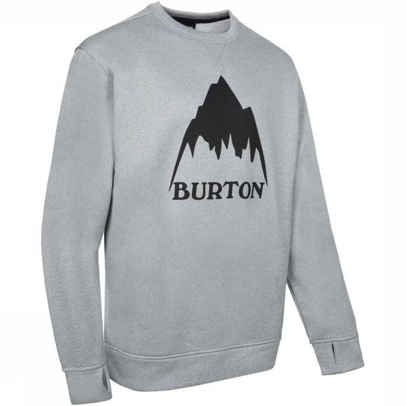Burton Pullover Oak Crew light grey