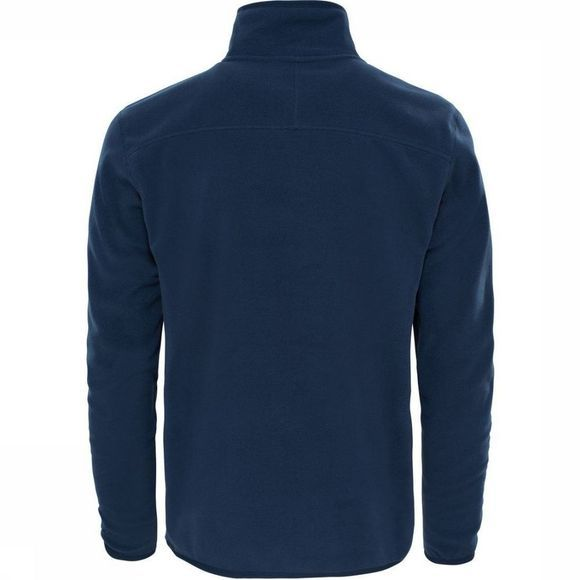 The North Face Fleece 100 Glacier 1/4 Zip Marineblauw