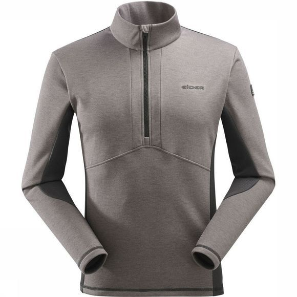 Eider Fleece Sidecut 1/2 Zip dark grey