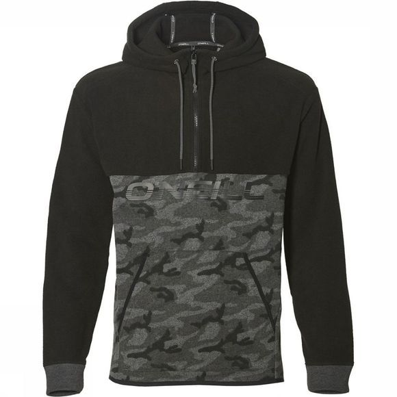 O'Neill Fleece 1/4 Zip Hybrid Zwart/Assortiment Camouflage