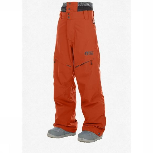 Picture Organic Clothing Ski Pants Naikoon rust