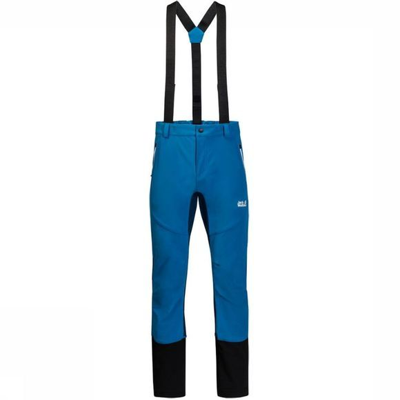 Jack Wolfskin Ski Pants Gravity Tour mid blue/black