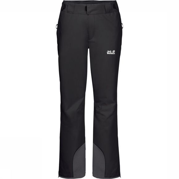 Jack Wolfskin Skibroek Powder Mountain Short Zwart