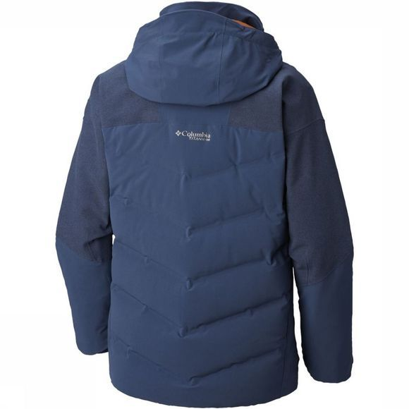 Columbia Jas Powder Keg II Donkerblauw