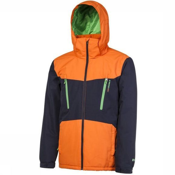 Protest Coat Tailgrab dark blue/orange