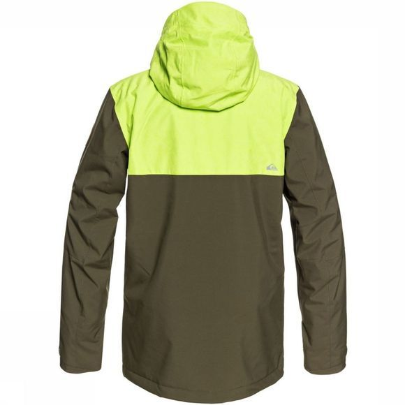 Quiksilver Jas Arrow Wood Middenkaki/Lime