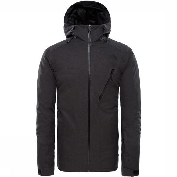 The North Face Manteau Descendit Gris Foncé Mélange