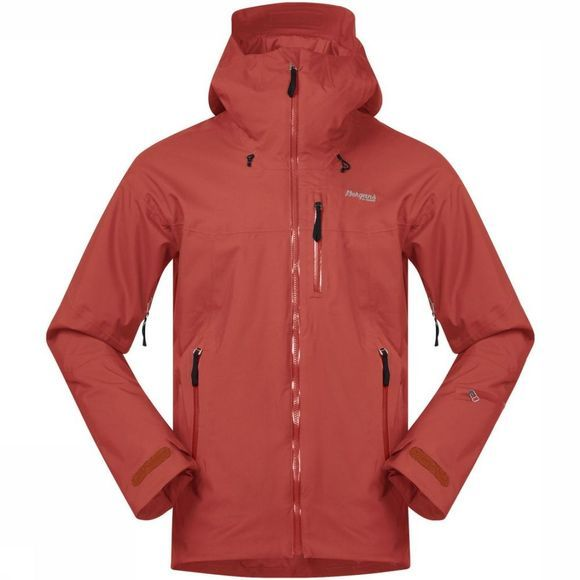 Bergans Jas Stranda Insulated Hybrid Middenrood