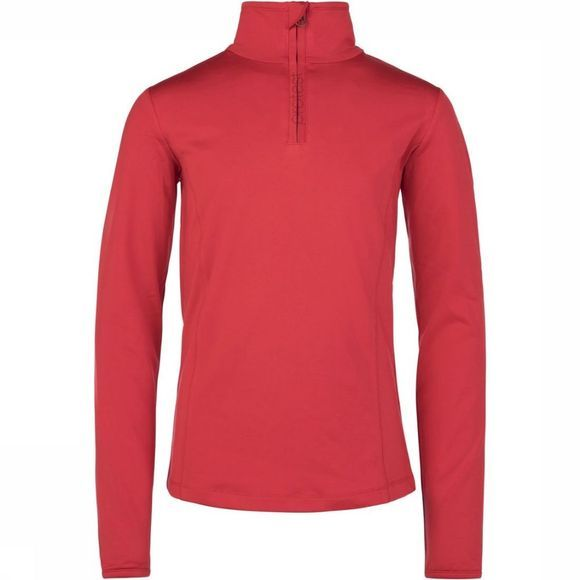 Protest Polaire Fabrizoy Jr 1/4 Zip Rouge