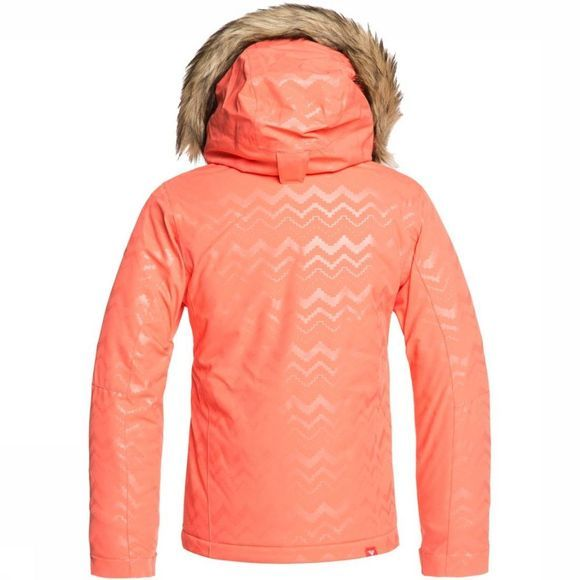 Roxy Manteau Jet Ski Solid Girl Orange