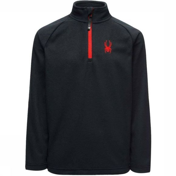 Spyder Fleece Speed Tneck Zwart/Rood