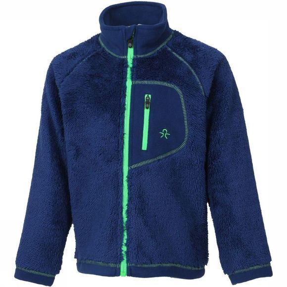 Color Kids Fleece Burma Blauw/Groen
