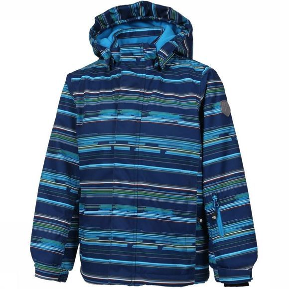 Color Kids Manteau Dartwin Bleu/Assortiment Géométrique