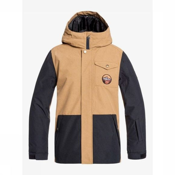 Quiksilver Manteau Ridge Youth Chameau/Noir