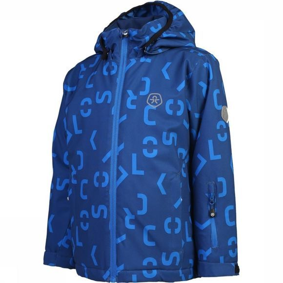 Color Kids Softshell Kerto Koningsblauw