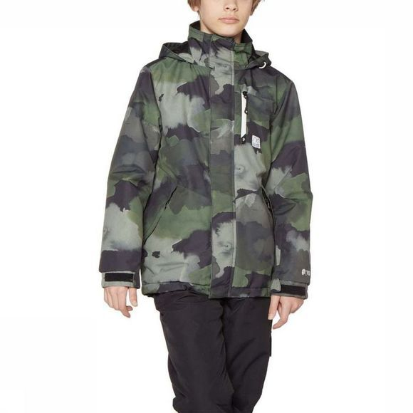 Protest Softshell Discovery Jr Kaki Moyen/Assortiment Camouflage
