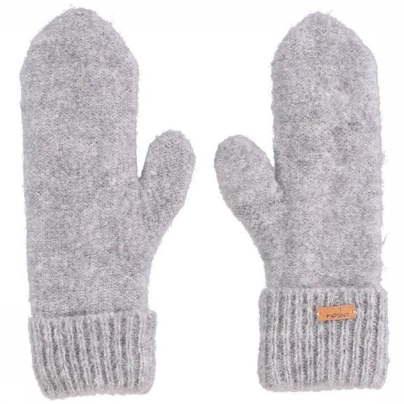 Nosho Mitten Guantes Serena Light Grey Mixture