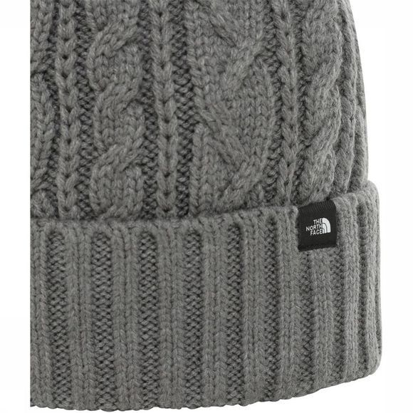 The North Face Muts Oh-Mega Fur Pom Lichtgrijs