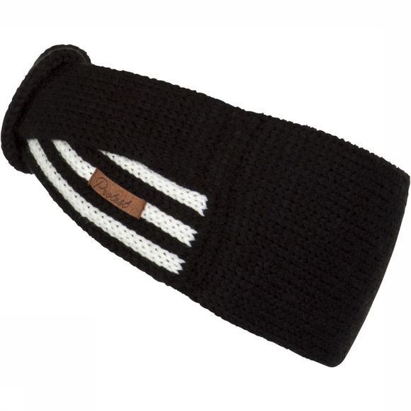 Protest Headband Blackout black/white