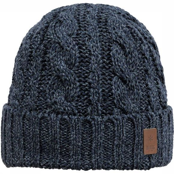 Barts Bonnet Twister Turnup dark blue