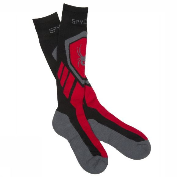 Spyder Ski Sock Men's Venture black/red