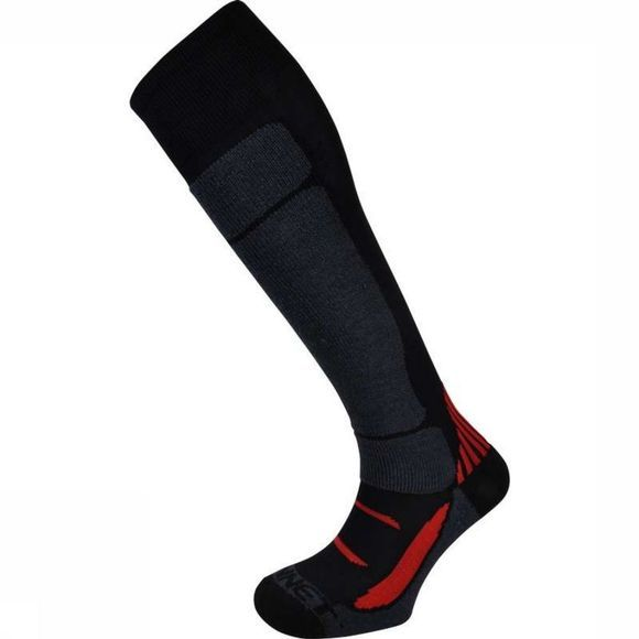 Monnet Ski Sock Mon Access U black/red