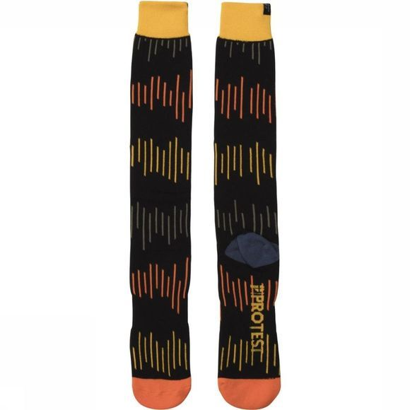 Protest Ski Sock Norwich black/Assortment