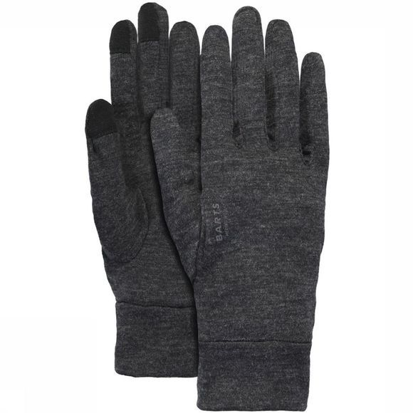 Barts Liner Merino Touch Glove Dark Grey Mixture